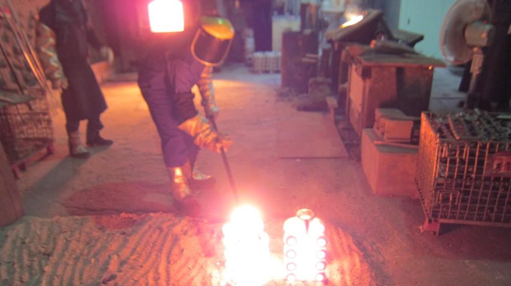 ロストワックス精密鋳造・砂型鋳造